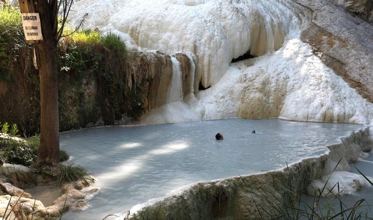 Hot Springs in TuscanyEnjoy Natural Hot Springs Outdoors in Bagni San Filippo