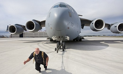 Image result for pulling a plane