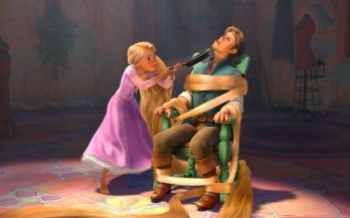Rapunzel Tangled Frying Pan