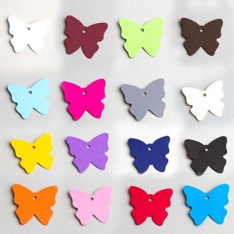 Etiquette En Forme De Papillon Pour Les Contenants Drages