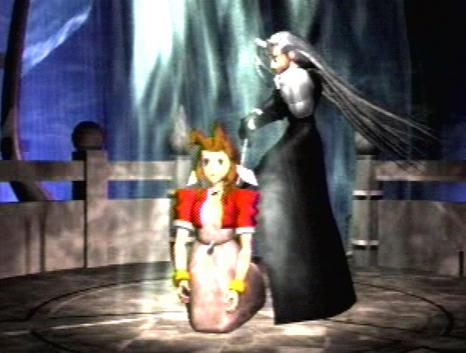 why aeris dying in