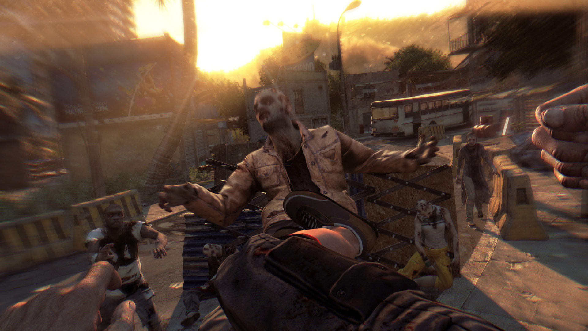Dying Light Check Out Seven Minutes Of Ultra Violent Gameplay