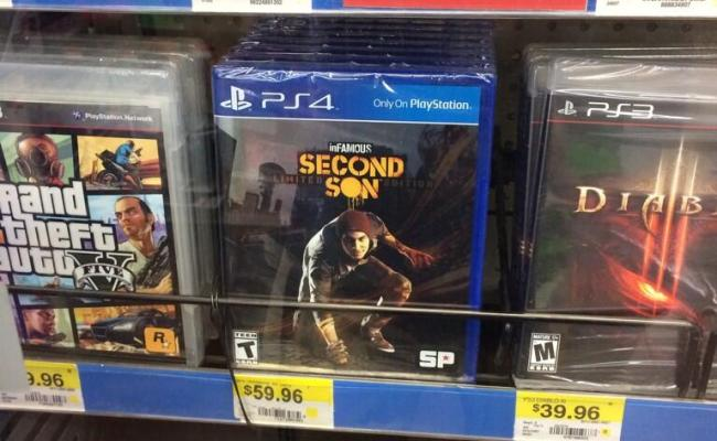 Walmart Has Infamous Second Son On The Shelves Already