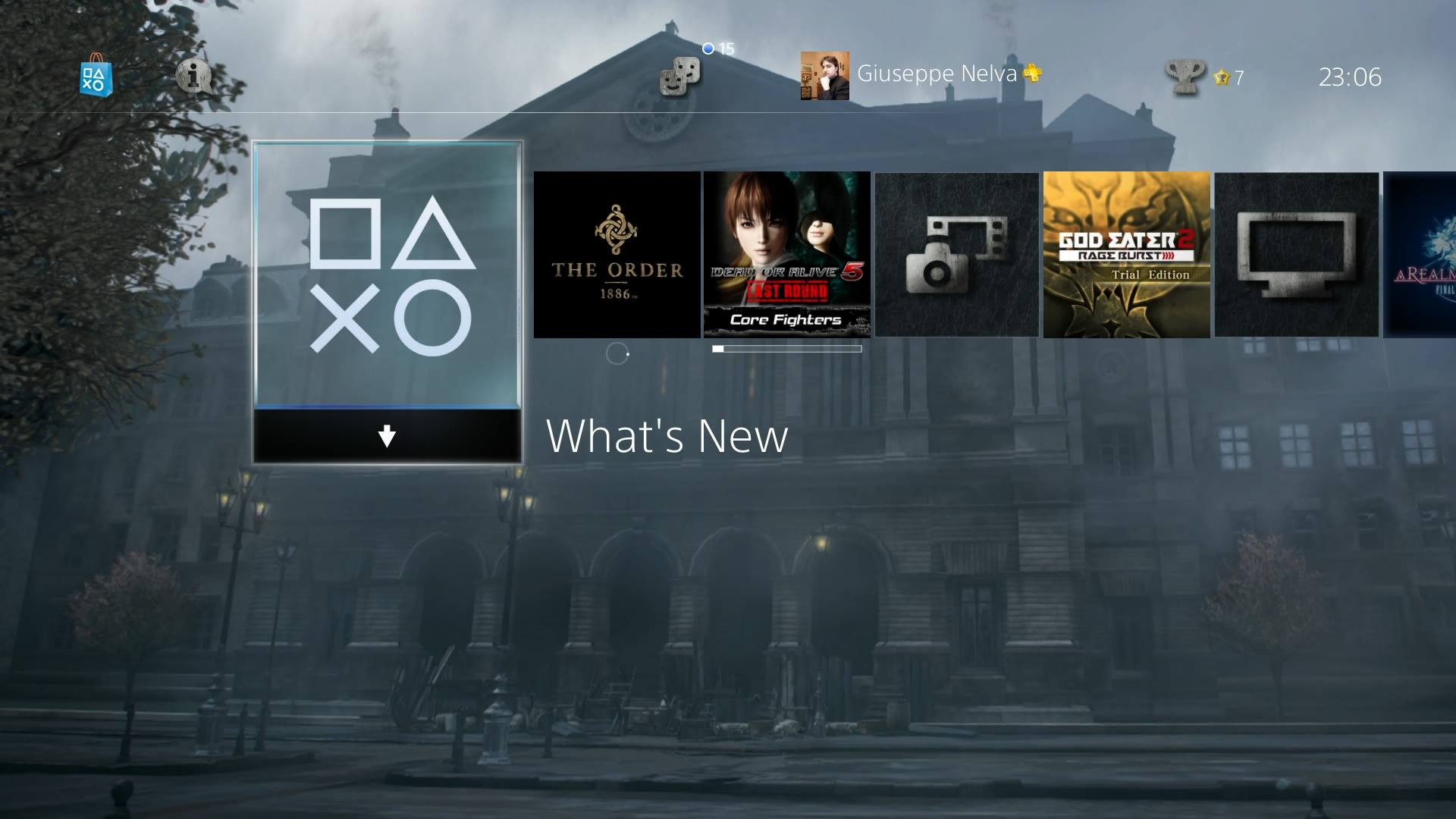New The Order 1886 and Hohokum PS4 Dynamic Themes