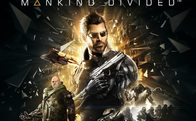 Deus Ex Mankind Divided Gets Lovely Official Box Art For