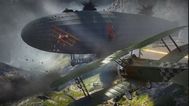 Battlefield 1 DLC Teaser Showing The Biggest Tank Ever Made May Be Coming