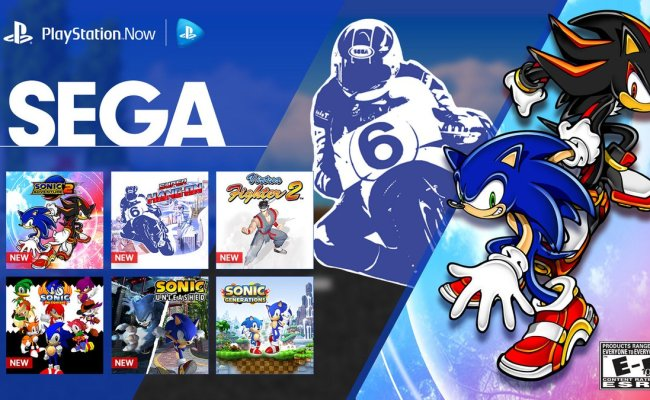 13 Sega Games Added To Playstation Now