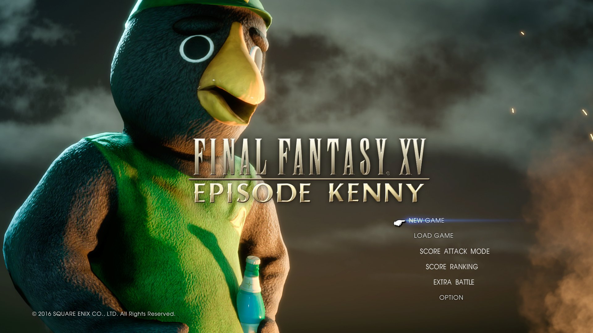 Final Fantasy XVs April Fool Is A Cute Episode Kenny DLC