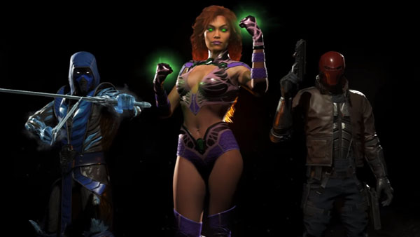 Criminal Girls Steam Wallpaper Red Hood Starfire And Sub Zero Revealed As First Three