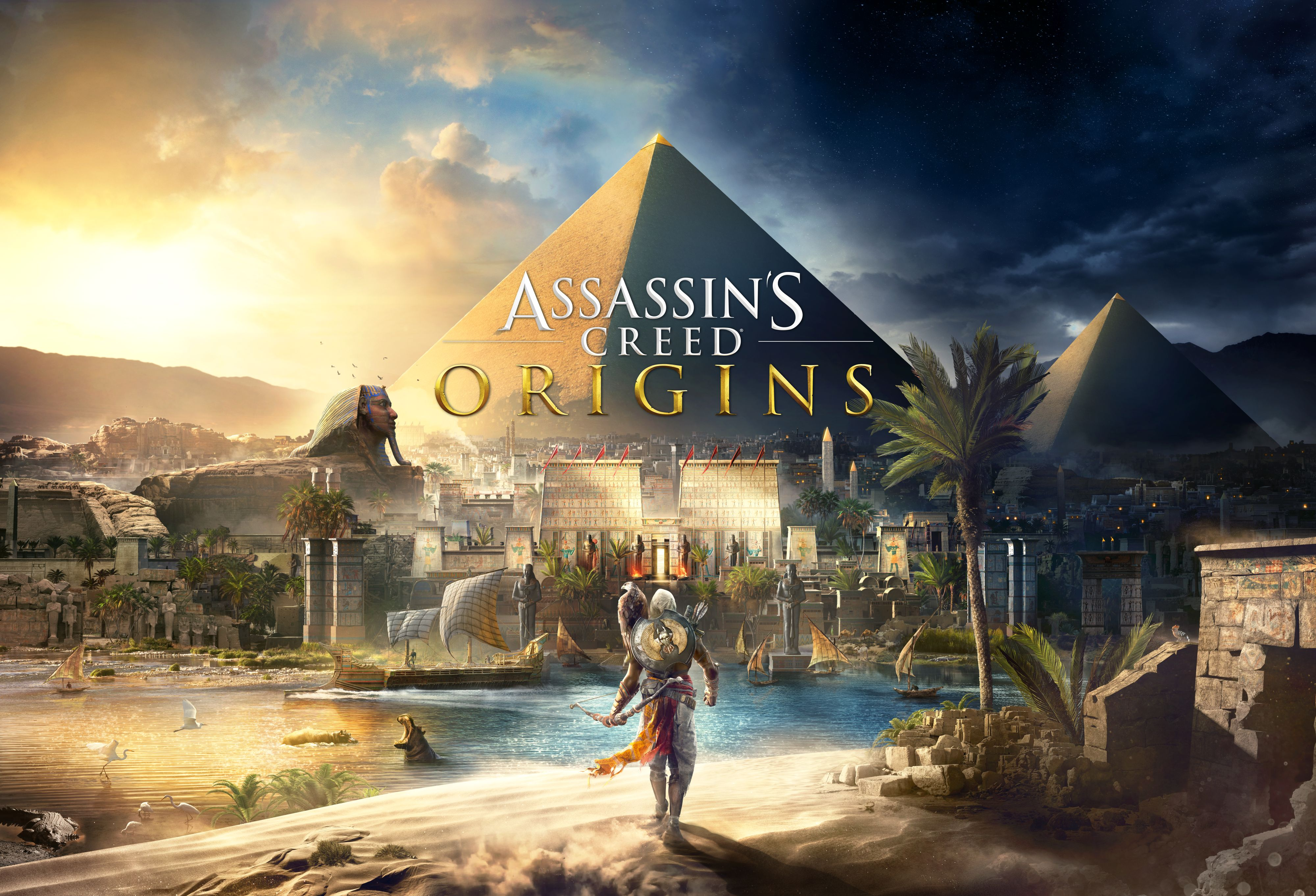 Assassins Creed Origins Gets First Gorgeous Screenshots And Box Art Showing Its Beautiful Egypt