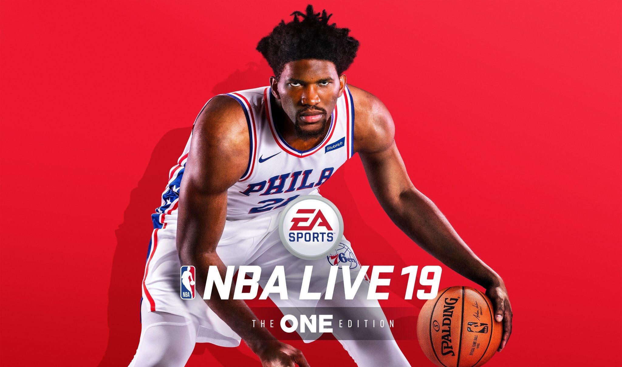 Joel Embiid Is Nba Live 19's Cover Athlete
