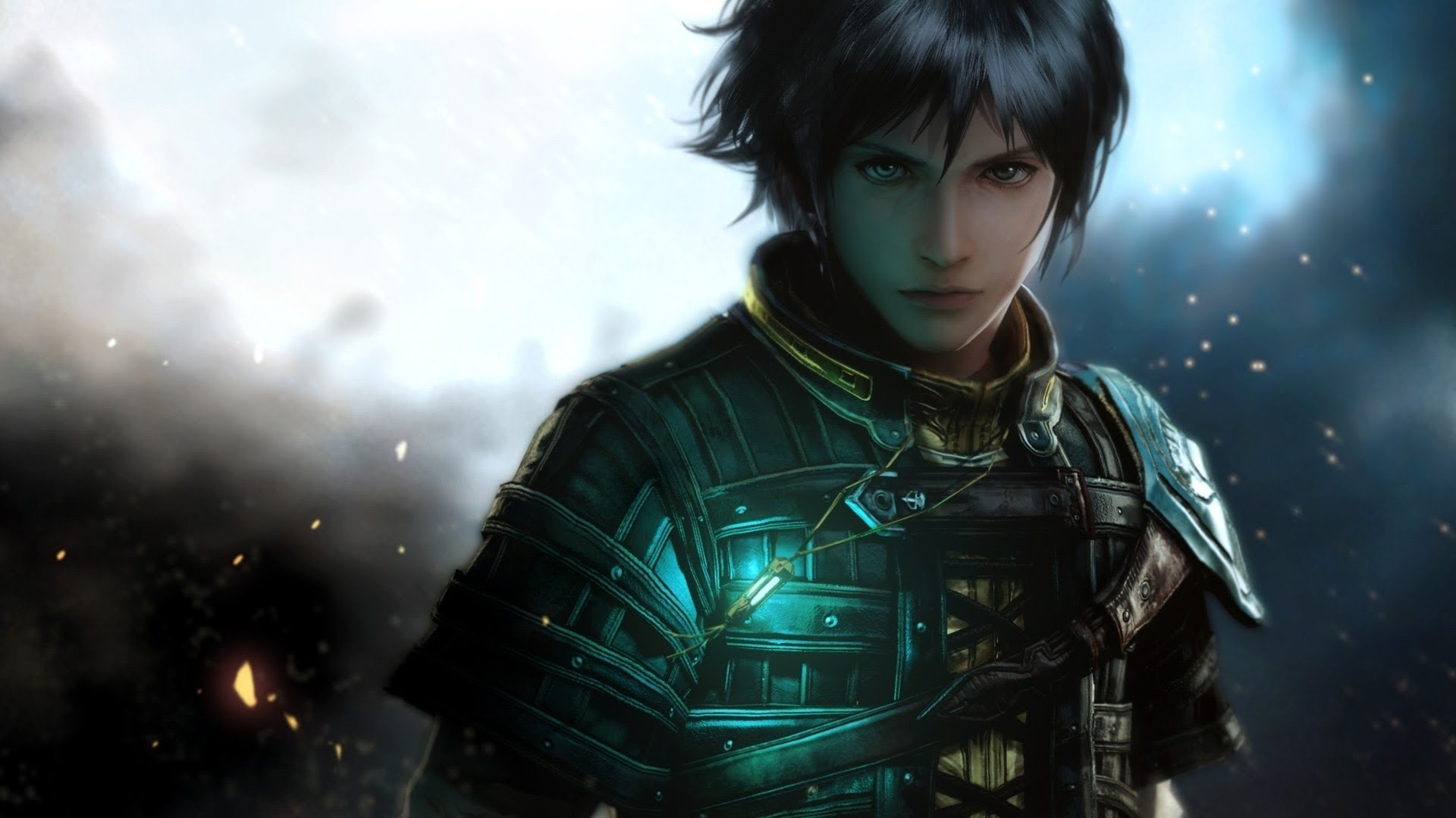 Ninja Fantasy Girl Wallpaper Ps4 Exclusive The Last Remnant Remastered Gets First Live
