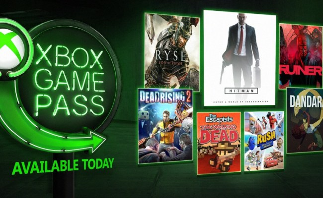 Hitman Ryse Son Of Rome And More Join Xbox Game Pass Today