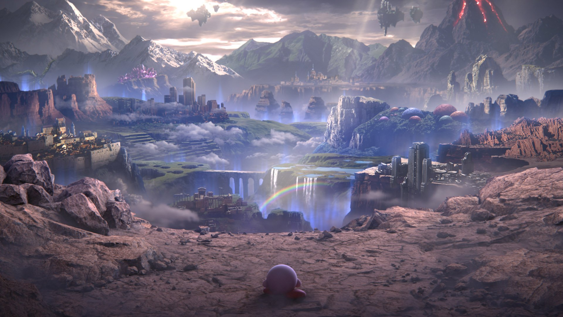 Super Smash Bros Ultimates Story Mode Is Like An Infinity War Based Anime With Kirby As Hero
