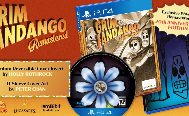 Grim Fandango Remastered Now Available On Switch With