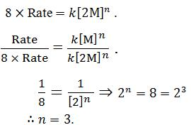For the elementary reaction M → N, the rate of