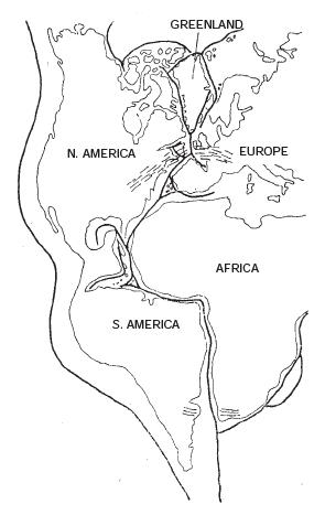 Short Question Answers : Origin of Continents and Oceans