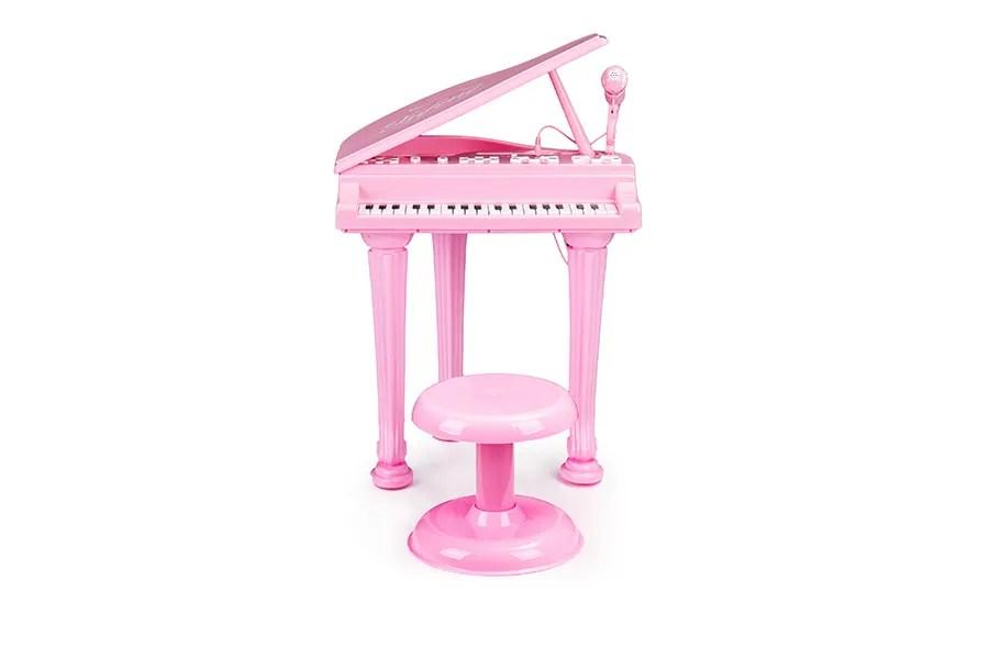 Elektrisch speelgoedkeyboard voor kinderen (roze)