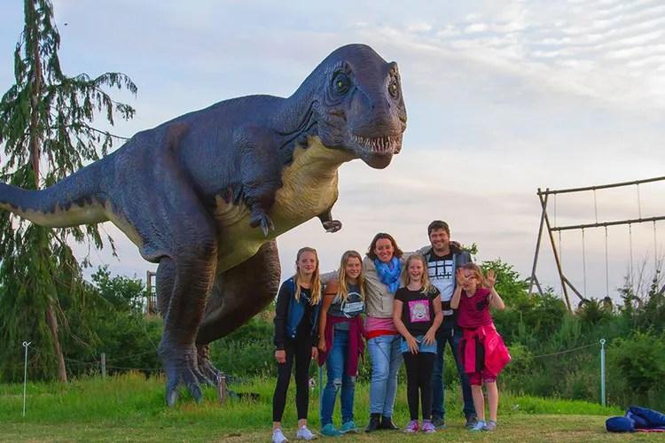 Tickets voor Dinopark Landgoed Tenaxx (2 p.)