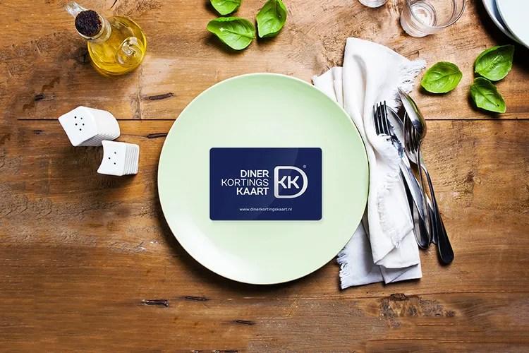 1 jaar lang 25% korting op je rekening (600 restaurants)