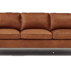West Elm Hamilton Leather Sofa Tan Baby Chair India Five Couches Without Fire Retardants You Can Buy Right Now ...