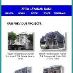 Baja Ringan Utama Truss Website For Construction Company Freelancer