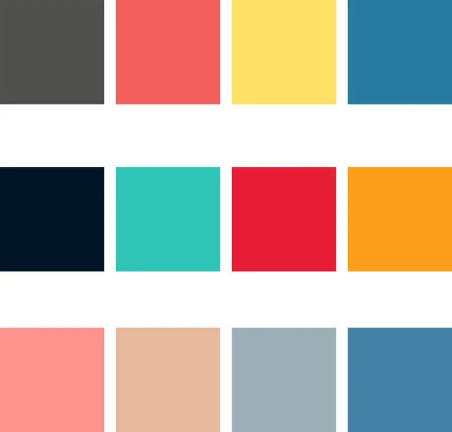 Need 4 color schemes for the Highchart  Freelancer