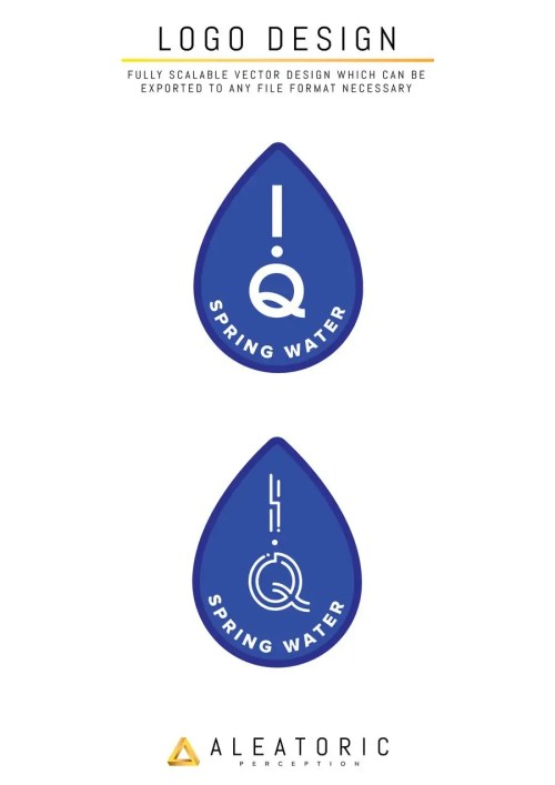 small resolution of contest entry 34 for design a logo for spring water