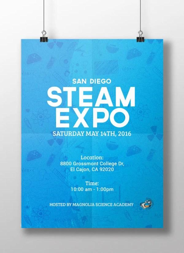 Entry #3 Danieljames26 Design Poster Steam