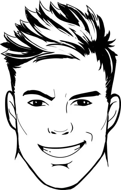 Entry #119 by inoreloaded for Simple face drawing (Sample