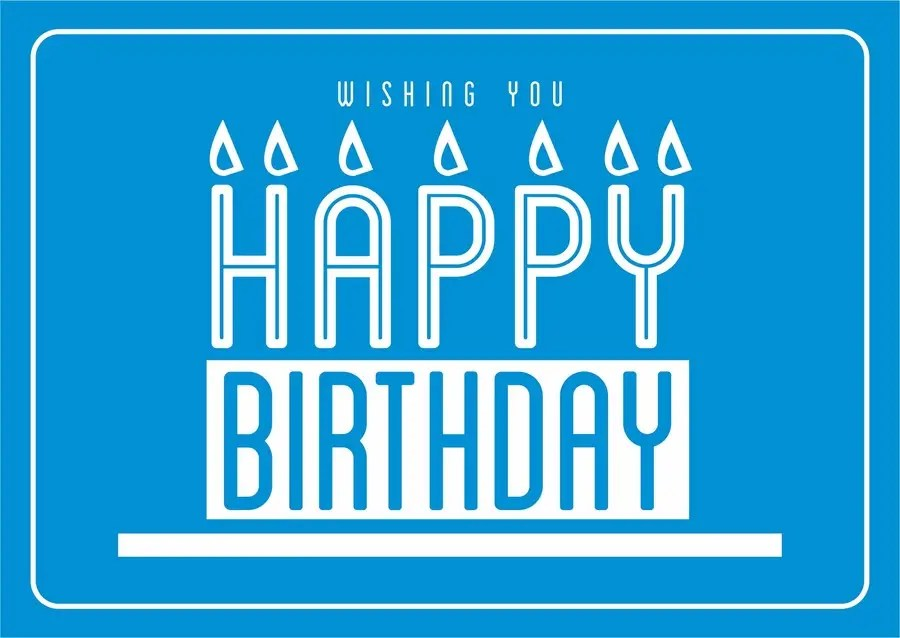 Design Some Stationery For Corporate Birthday Card