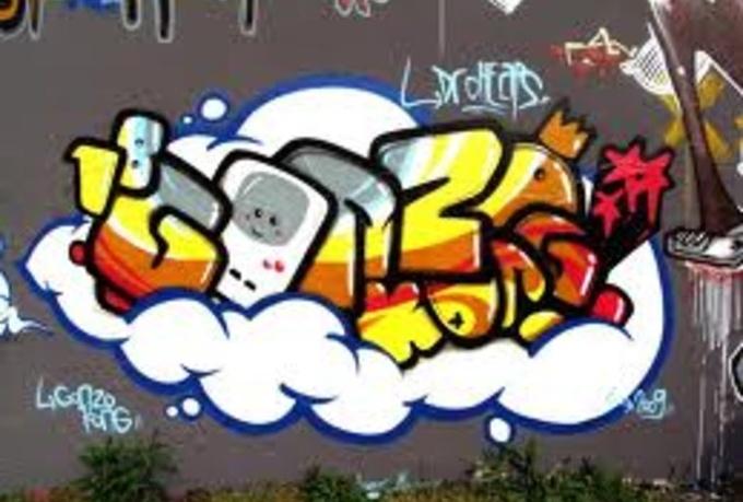 Write Your Name Graffiti Style