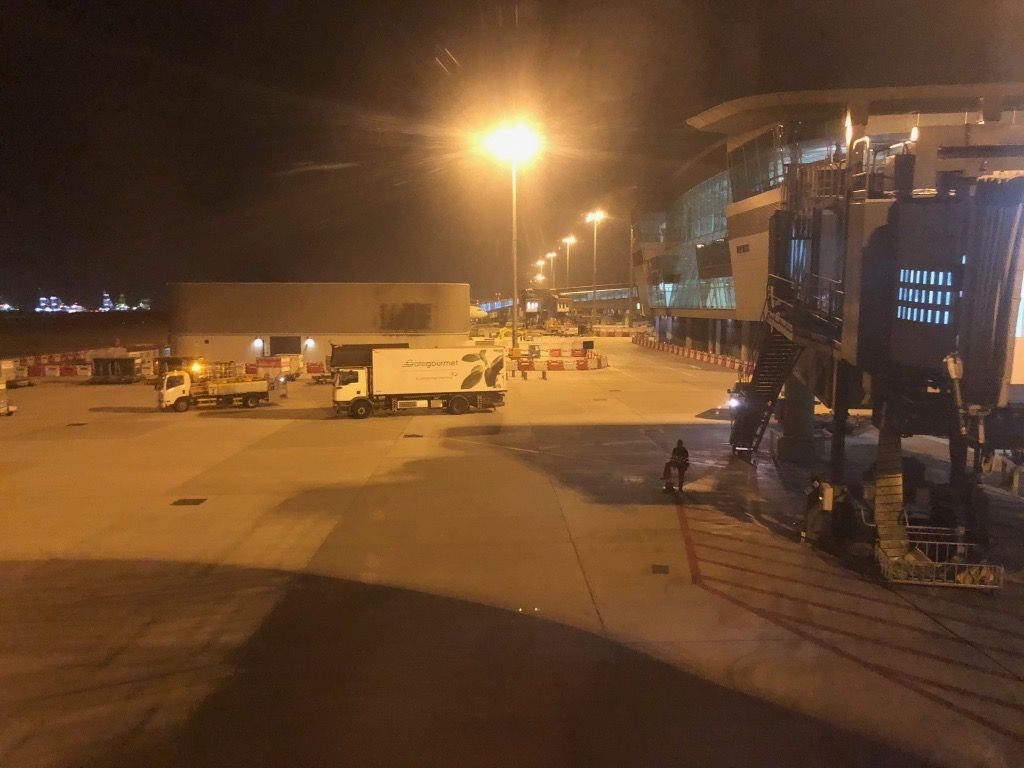 Review of Hong Kong Airlines flight from Beijing to Hong Kong in Business