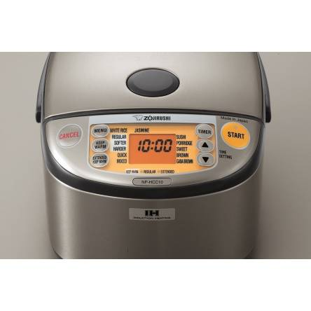 Zojirushi Induction Heating System Rice Cooker and Warmer - NPHCC10XH | Lifestyle By Focus