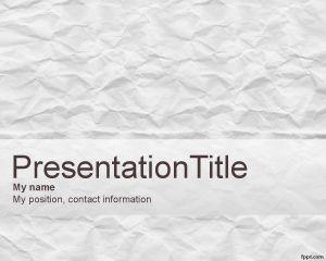 Scrapbook PowerPoint Template PPT Template