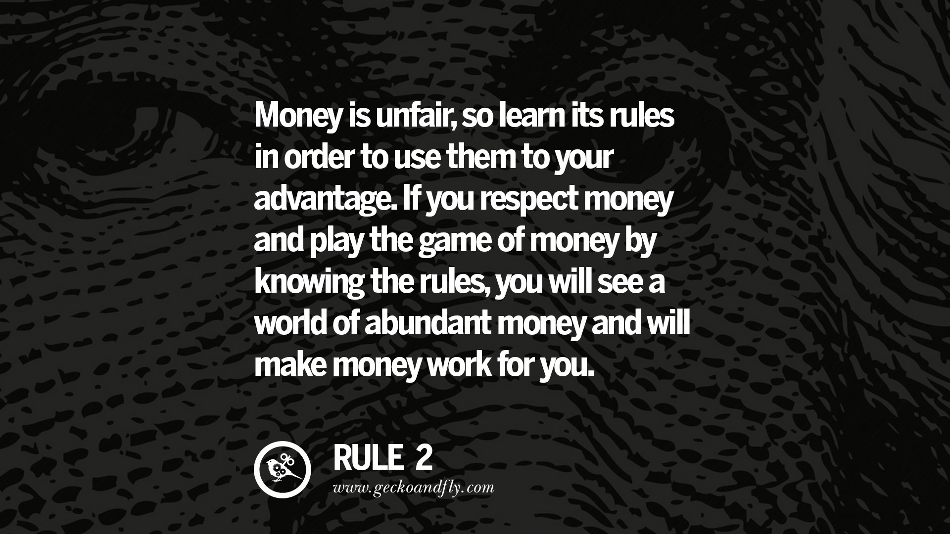 Inspirational Quote Wallpaper For Computer 10 Golden Rules On Money Amp 20 Inspiring Quotes About Money