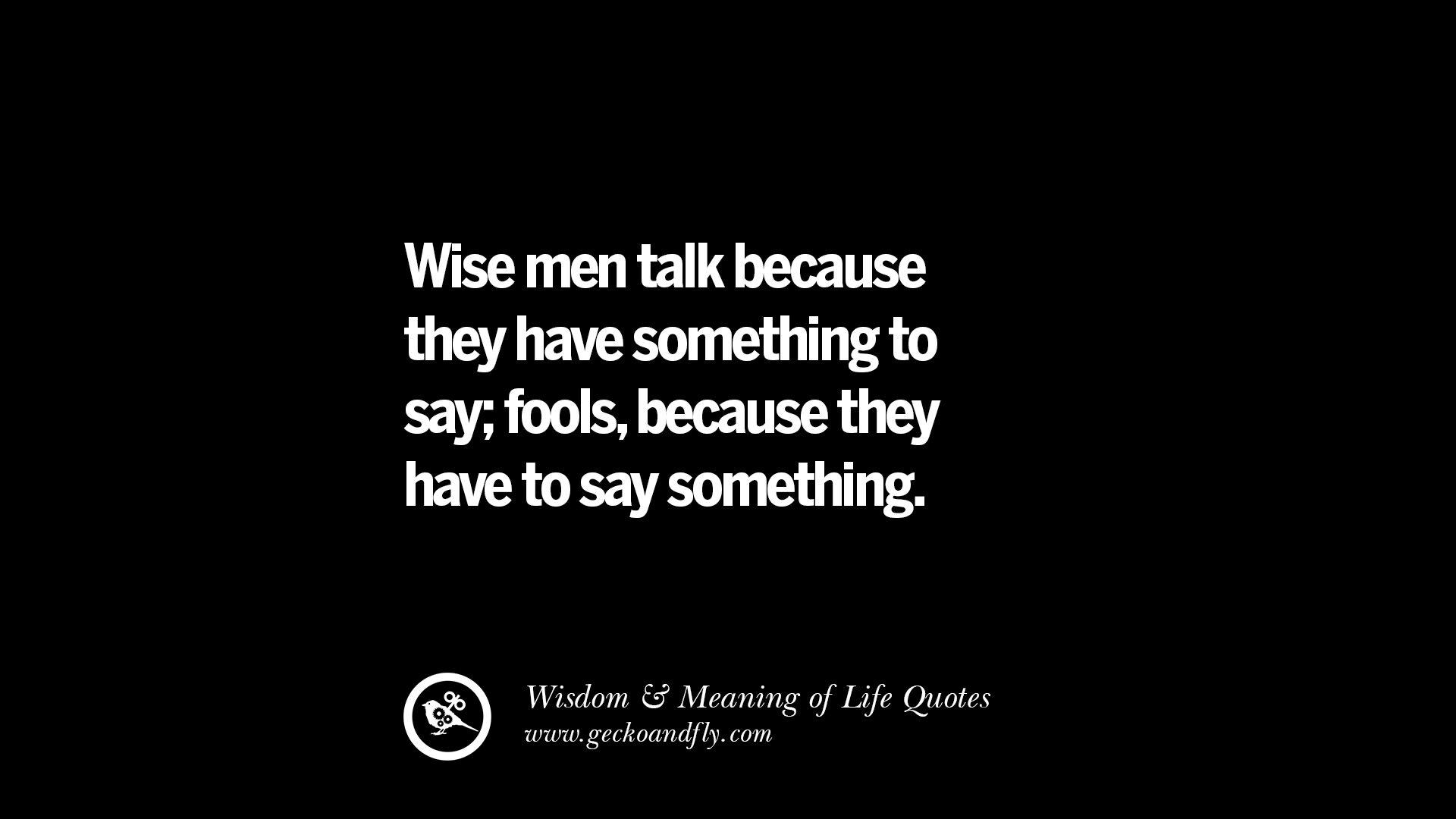 Wise Quotes Quotesgram
