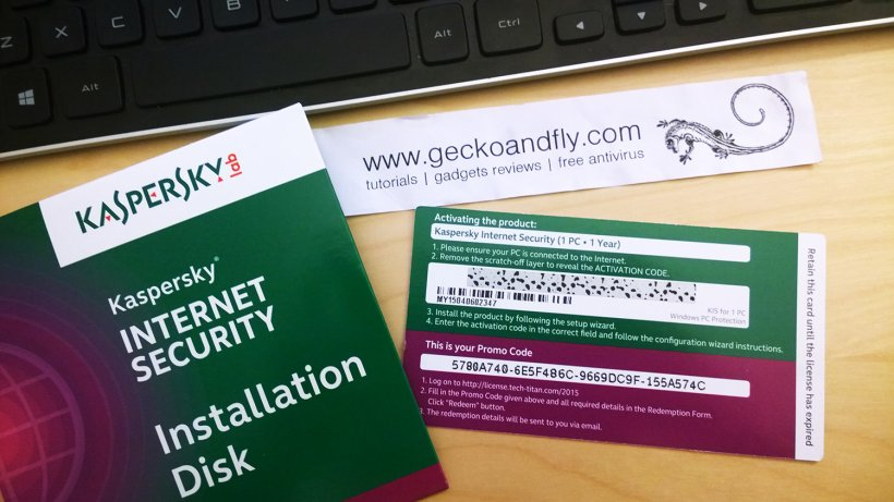 i lost my kaspersky activation code 2016