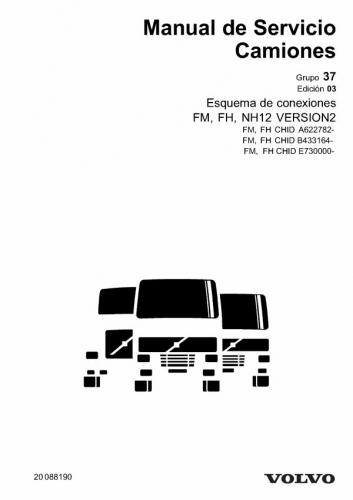 Documento Esquema electrico volvo FM,FH 440 PARTE 1