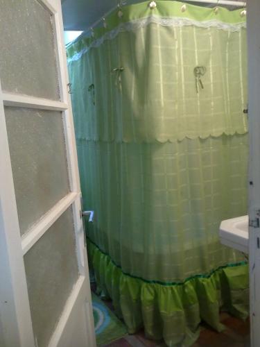 Imagen cortinas de bao color verde pistacho  grupos