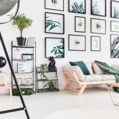 Ideas For Decorating A Large Wall In Living Room Color With Wood Trim 7 Best Design Walls House Tipster 2 The Art Of Combinations