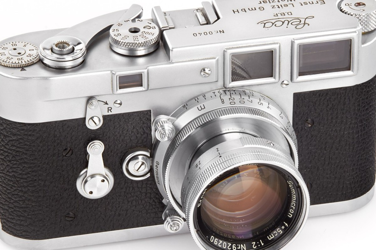 Historic Leica Cameras Auctioned In Vienna