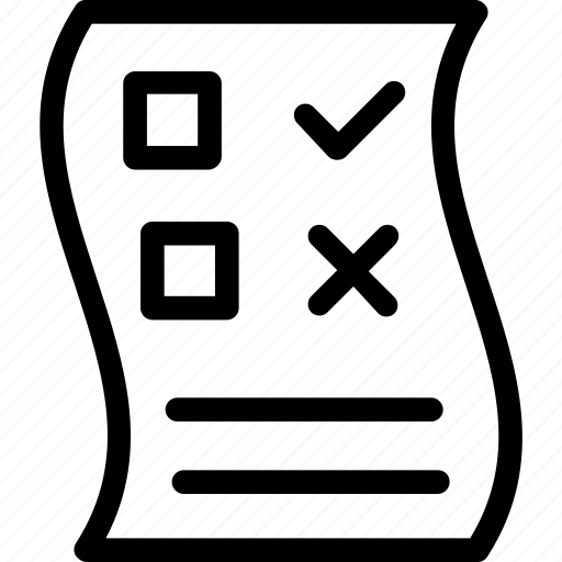 Audit, checklist, notepad, planning, to do list icon