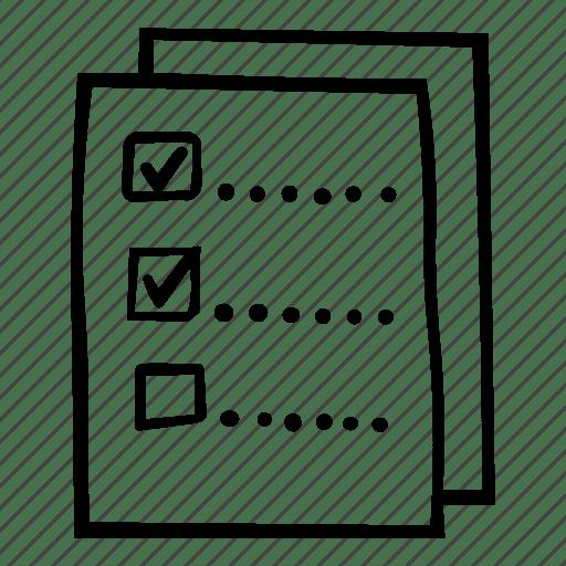 Check, checklist, interview, list icon