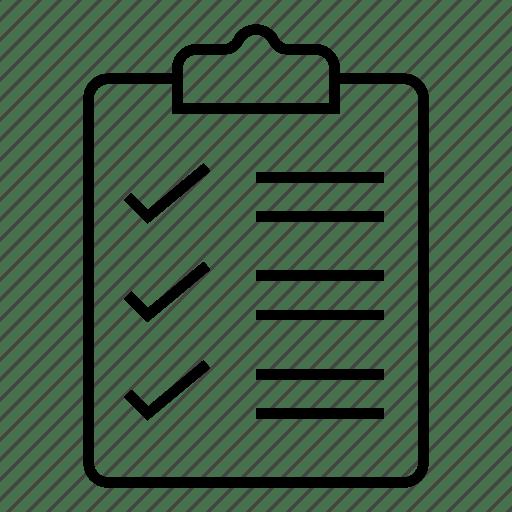 Check, checklist, compliance, document, list, mark, ok icon