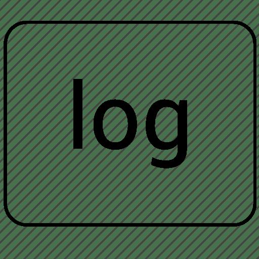 Calculator, function, log, logarithm, math icon