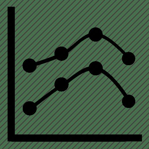 Analytics, business, chart, diagram, finance, graph