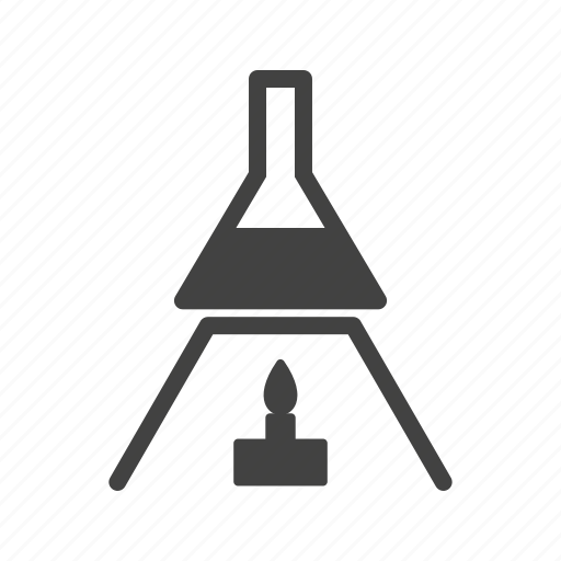 Chemical, fire, heat, laboratory, science, test, tube icon