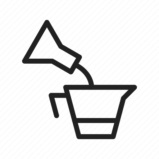 Beaker, chemical, flask, lab, laboratory, measuring, test icon