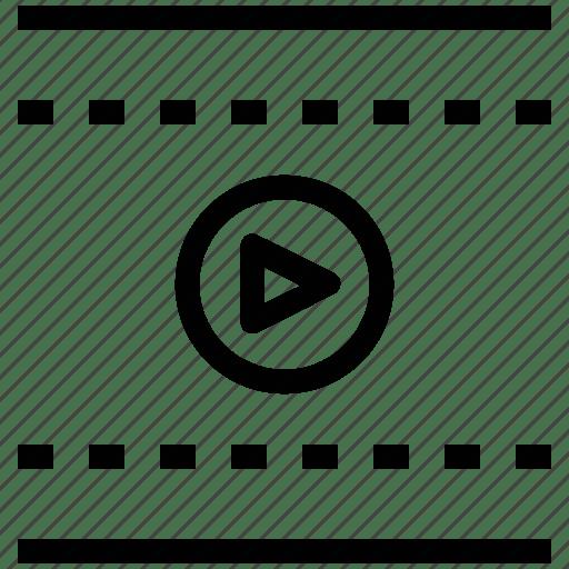 Cinema, media, media player, movie, multimedia, video icon